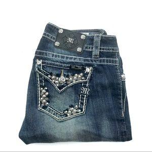 Miss Me Midrise Skinny Jeans, Size 29, EUC